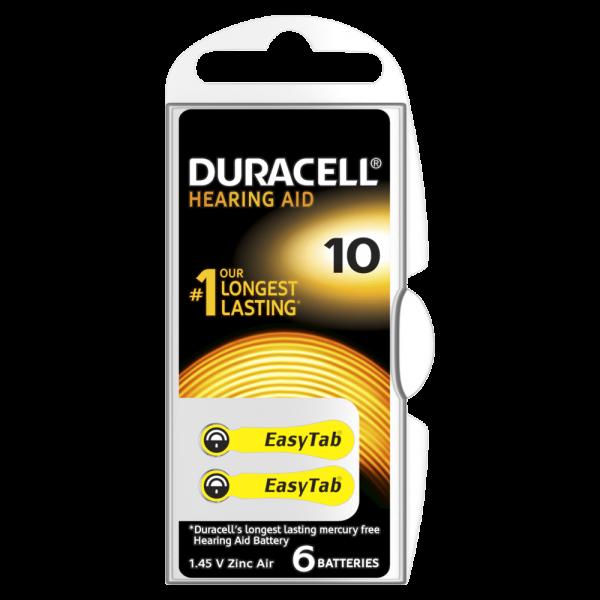 Slušni aparat baterije Duracel-10